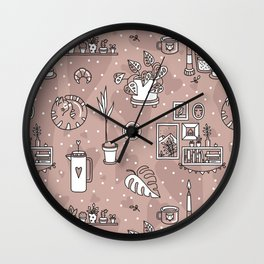 Cozy home Wall Clock