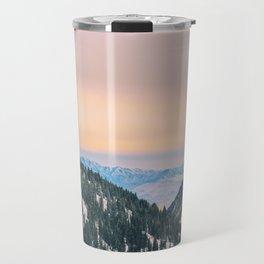 Sunset Through the Valley Travel Mug