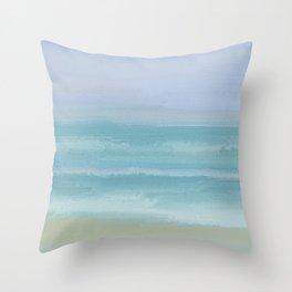 Seashore Small Breakers Throw Pillow
