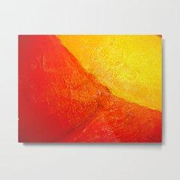 flor roja Metal Print
