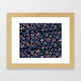 bling bling Framed Art Print