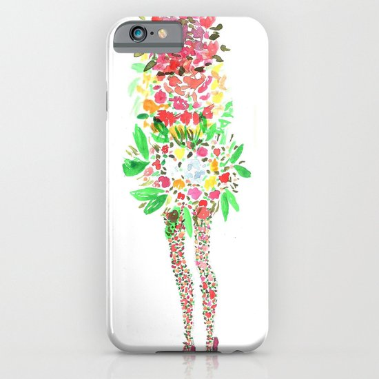 Flower Girl iPhone & iPod Case