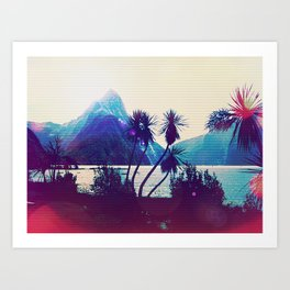 Milford Sound 2 Art Print