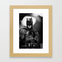 Tell me. Do you bleed? Framed Art Print