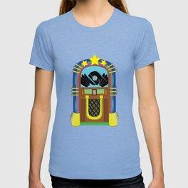 Jukebox Clubbing Disc Jockey Juke Box Vintage T-shirt