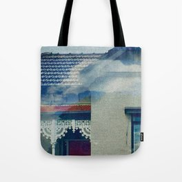 Floating through Carlton Tote Bag
