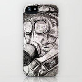 World War I - Gas Mask (WWI) iPhone Case