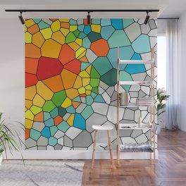 Barcelona mosaic pattern Wall Mural