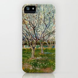 Vincent Van Gogh - Orchard in Blossom iPhone Case