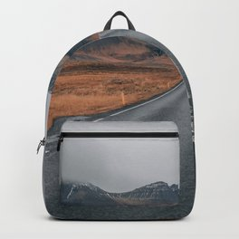 HIGH WAY - ROAD - LANDSCAPE - PHOTOGRAPHY - NATURE - ADVENTURE - SKY Backpack
