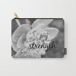 Nehemiah 8:10 Joy Lord Strength Carry-All Pouch