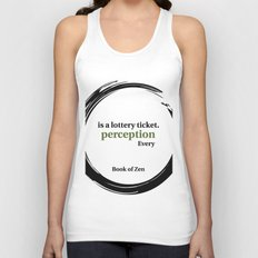 Inspirational Quote About Reality Unisex Tank Top