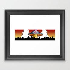 Love Fungus Framed Art Print