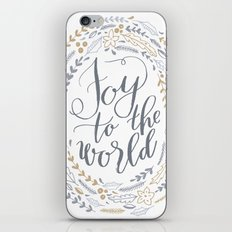 Joy to the World iPhone & iPod Skin
