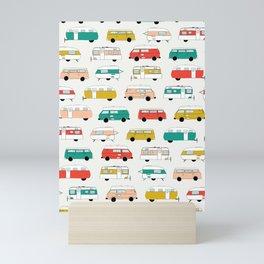 Los Angeles Campers Mini Art Print