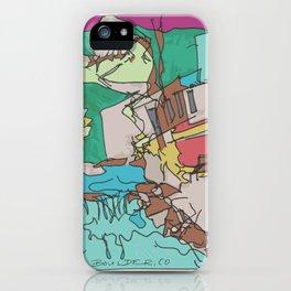 Boulder Color  iPhone Case