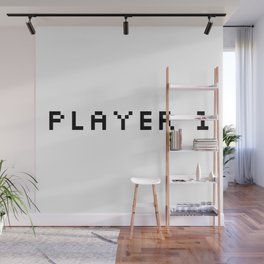 Player One Wall Mural
