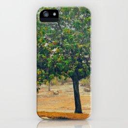 Raining in Tulum iPhone Case