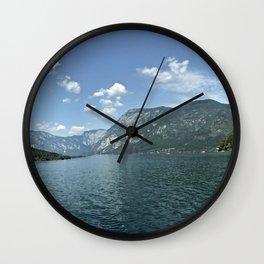 Lake Bohinj Wall Clock