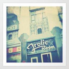 Frolic Room, Los Angeles Hollywood photograph Art Print