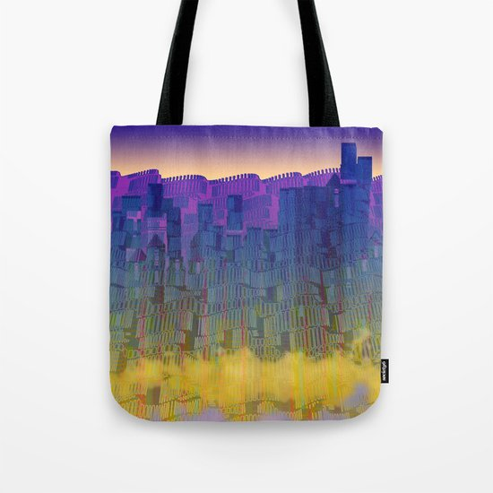 Urban 05-07-16 / WAVES of LIGHT Tote Bag