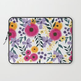 Spring Floral Bouquet Laptop Sleeve
