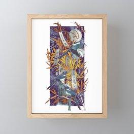 Tanabata Framed Mini Art Print