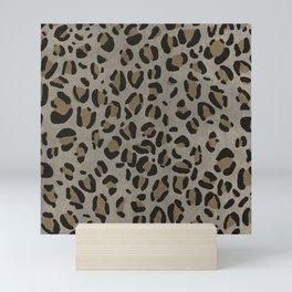 Scene Kid Leopard Print (NEUTRAL) Mini Art Print