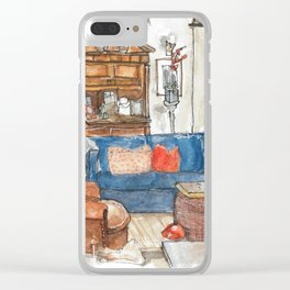 Will and Grace - Will Truman's Apartment Clear iPhone Case