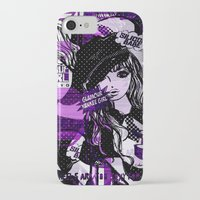 police iPhone & iPod Cases featuring POLICE WOMEN by Chandelina