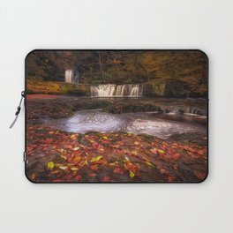 Sgwd Ddwli Isaf waterfalls South Wales Laptop Sleeve
