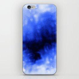 Blue Snow iPhone Skin