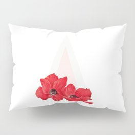 Floral Triangle Pillow Sham