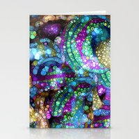 glitter Stationery Cards featuring Glitter by Joke Vermeer