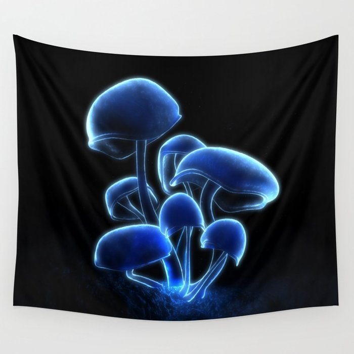 Fluorescence Wall Tapestry