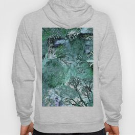 Monkey Life in the Green Bush of Ghosts Hoody