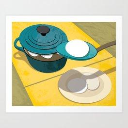 Perfect Eggs Art Print