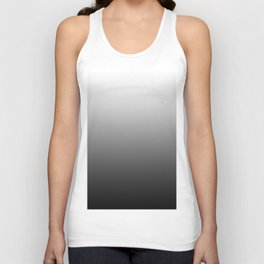 Simply Black & White Color Gradient - Mix And Match With Simplicity of Life Unisex Tank Top