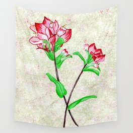 Indian Paintbrushes Wall Tapestry