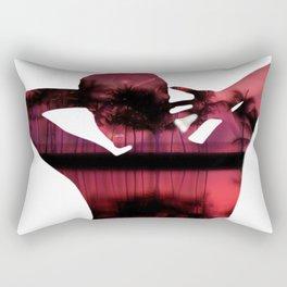 Woman paradise Rectangular Pillow