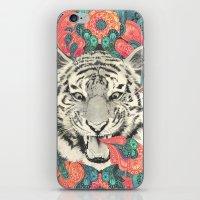 mandala iPhone & iPod Skins featuring bengal mandala by Laura Graves