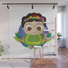 Cute Frida Wall Mural