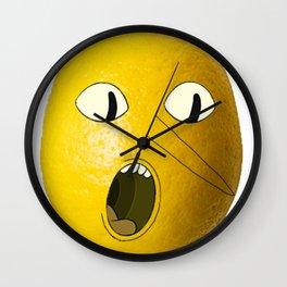 Lemongrab! Wall Clock