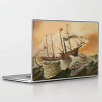 western Laptop & iPad Skins featuring Great Western by skot olsen