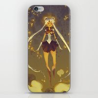 sailormoon iPhone & iPod Skins featuring SailorMoon by samanthadoodles