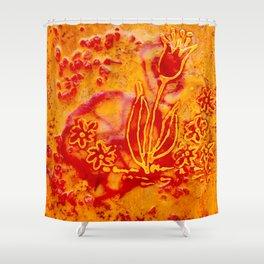 Happy flower Shower Curtain