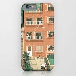 Hitchcock's Rear Window iPhone Case