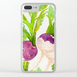 TURNIPS Clear iPhone Case