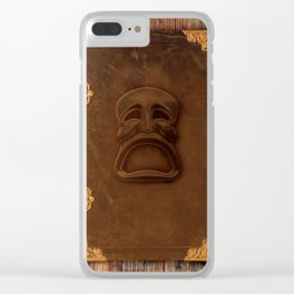 THE FOX & THE MASK Clear iPhone Case