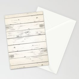 Light Natural Wood Texture Stationery Cards